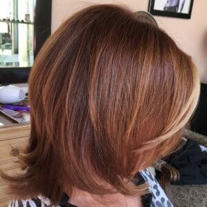 Hair Colorist MJ Hair Designs and Ammonia-Free CØR.color