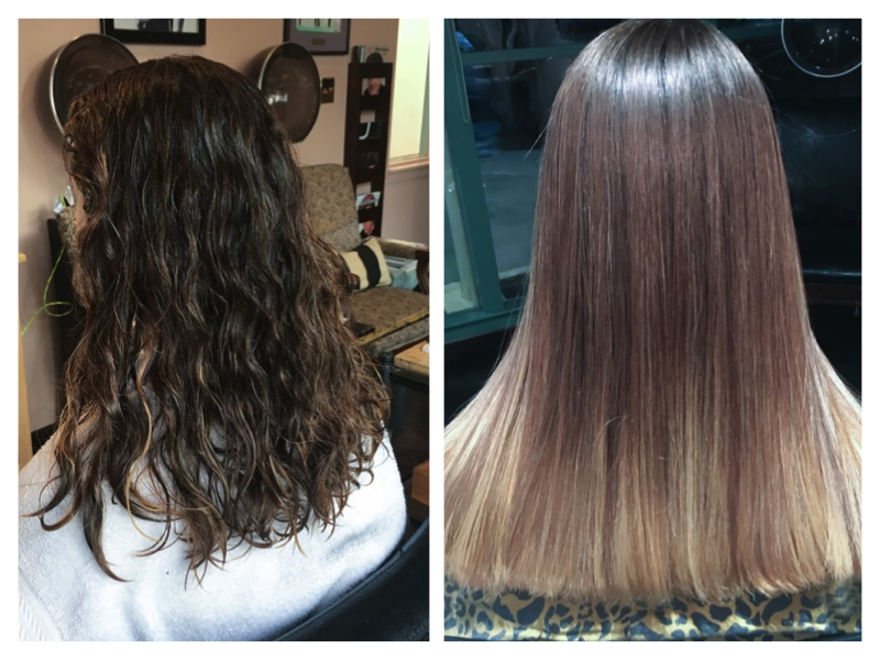 Nano Keratin Treatments Also Before And Afters Mj Hair Designs