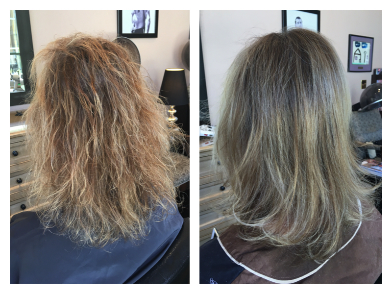 keratin treatment, brazilian blowout
