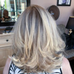 Salons in Sherman Oaks does a blonde on blond