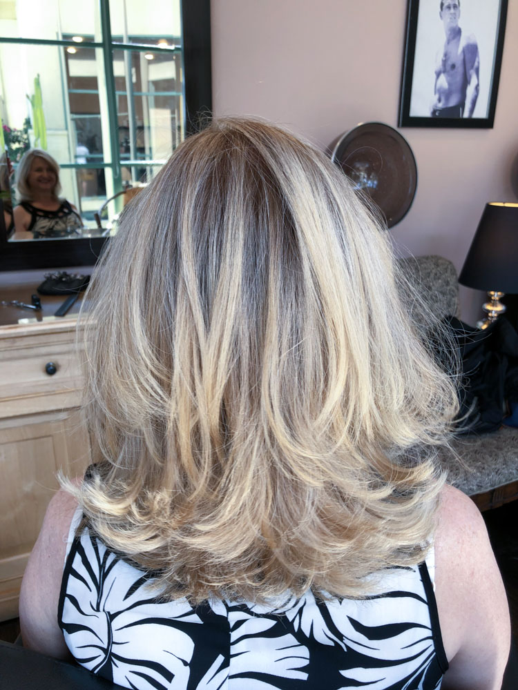 hair coloring sherman oaks, los angeles, Salons in Sherman Oaks does a blonde on blond