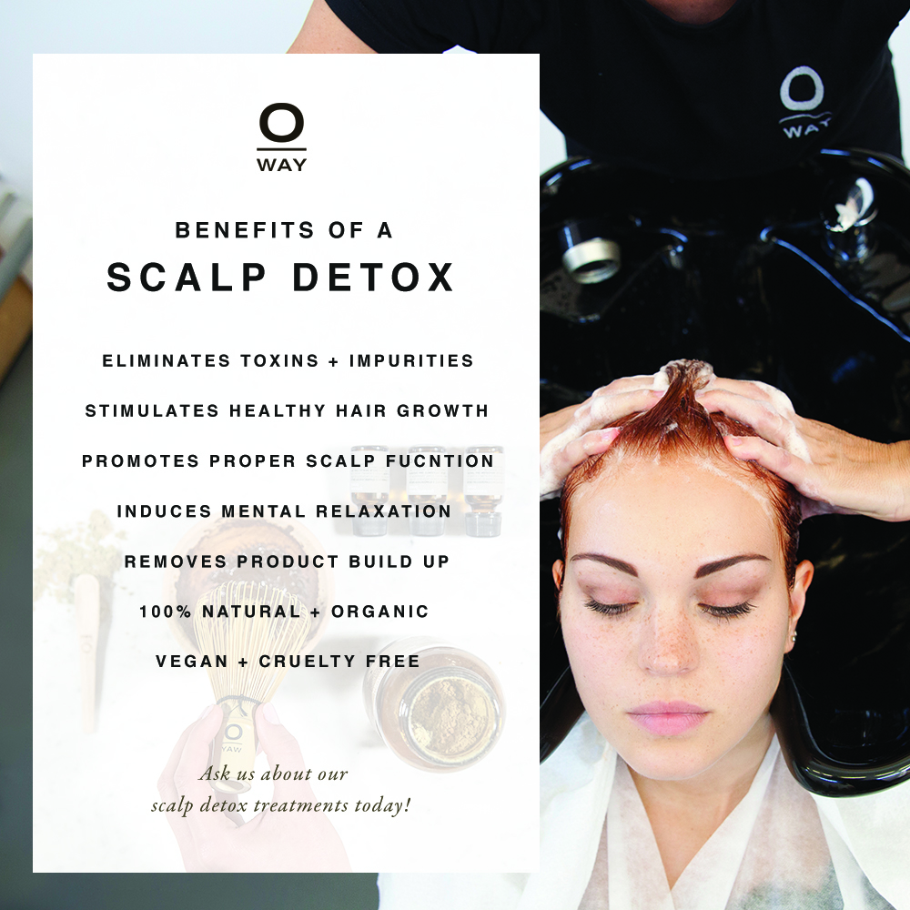 To explain what benefits a scalp detox would have