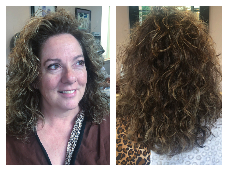 curly hair, hair stylist for curly hair in sherman oaks, los angeles